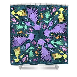 Spring Fling Shower Curtain