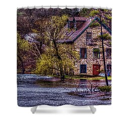 Spring Flood Shower Curtain