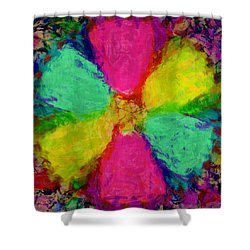 Spring Floral Shower Curtain