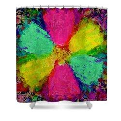 Spring Floral Shower Curtain by Susan Leggett