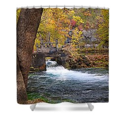 Shower Curtain featuring the photograph Spring Flow by Marty Koch