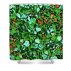 Spring Foiliage Shower Curtain