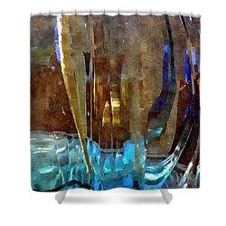Spring Globe Shower Curtain