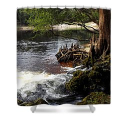 Spring Gushing Shower Curtain