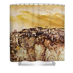 Spring Heat Shower Curtain