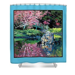 Spring Impressions Shower Curtain by John Lautermilch