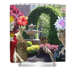 Spring In Bloom Shower Curtain by Lyric Lucas