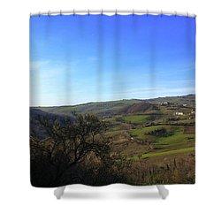Spring In Casacalenda Shower Curtain