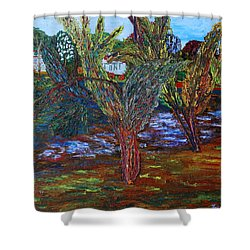 Spring In Cranbury Shower Curtain