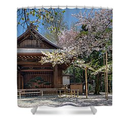 Spring In Edo Shower Curtain