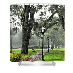 Spring In February Shower Curtain by Laura Ragland