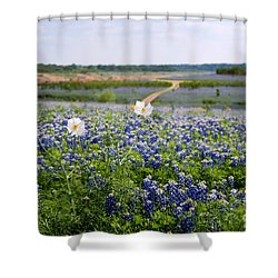 Spring In The Hill Country Shower Curtain