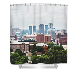 Shower Curtain featuring the photograph Spring In The Magic City - Birmingham by Shelby Young