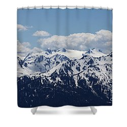 Spring In The Olympic Mountains Shower Curtain