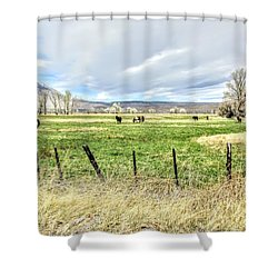 Spring In The Valley Shower Curtain