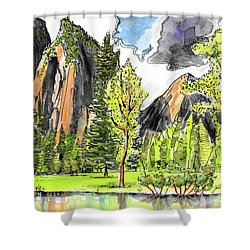 Spring In Yosemite Shower Curtain