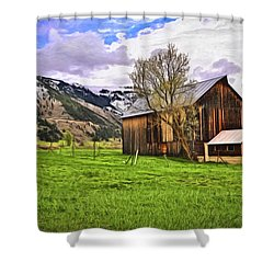 Spring Is All Ways A Good Time Of The Year Shower Curtain by James Steele