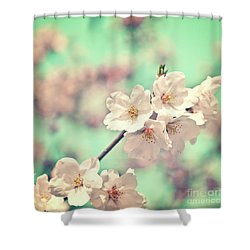 Shower Curtain featuring the photograph Spring Is Coming by Delphimages Photo Creations