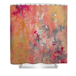 Welcome Spring Shower Curtain