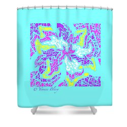 Spring Is Pastelling Shower Curtain