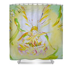 Spring Light Shower Curtain