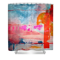 Spring Light North Wind Shower Curtain