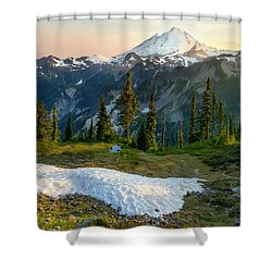Shower Curtain featuring the photograph Spring Melt by Ryan Manuel