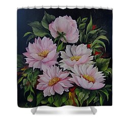 Spring Messangers Shower Curtain