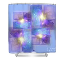 Spring Mood 1 Shower Curtain by Giada Rossi