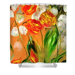 Spring Mood Shower Curtain