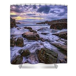 Spring Morn At Bald Head Cliff Shower Curtain by Rick Berk
