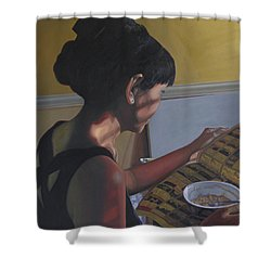 Spring Morning Cabot Arkansas Shower Curtain by Thu Nguyen