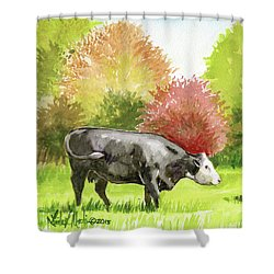 Spring Morning Graze Shower Curtain