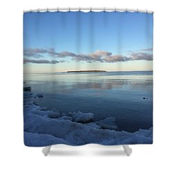 Spring Morning On Lake Superior Shower Curtain