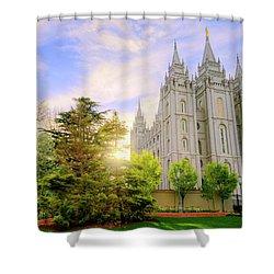 Spring Rest Shower Curtain