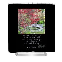 Spring Revival Shower Curtain by Carol Groenen