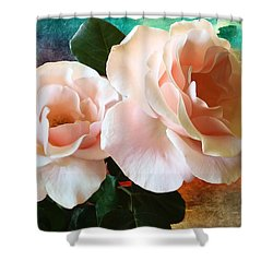 Spring Roses Shower Curtain by Gabriella Weninger - David