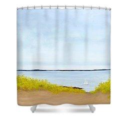 Spring Sail Shower Curtain