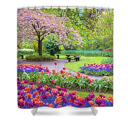 Spring Season Shower Curtain