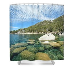 Spring Shores  Shower Curtain