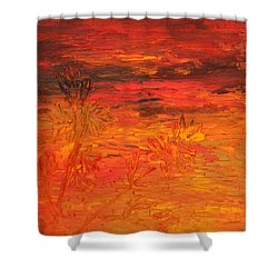 Spring Twilight Shower Curtain