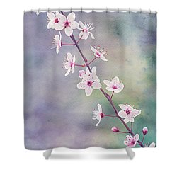 Shower Curtain featuring the photograph Spring Splendor by Linda Lees