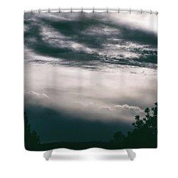 Spring Storm Cloudscape Shower Curtain