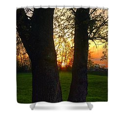 Spring Sunset 2018 Shower Curtain