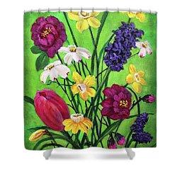 Spring Symphony Shower Curtain