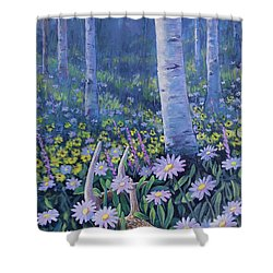 Spring Treasures Shower Curtain
