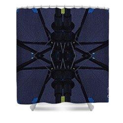 Spring Umbrella Shower Curtain