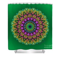 Spring Untitled Shower Curtain