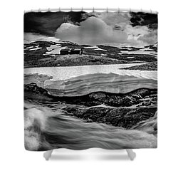 Shower Curtain featuring the photograph Spring Waters by Dmytro Korol