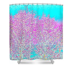 Spring Shower Curtain by Will Borden